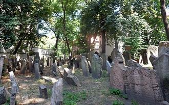 בית הקברות היהודי העתיק - Prague old Jewish Cemetery