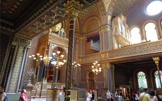 בית הכנסת הספרדי בפראג - Spanish Synagogue Prague