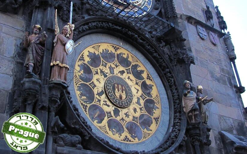 השעון האסטרונומי בפראג - Prague Astronomical Clock